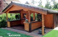 Premium Gartenhaus Blackwood