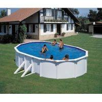 FEELING Pool-Set 500x300x120 cm Holz-Optik mit viel Zubehör für eine tolle Pool-Saison