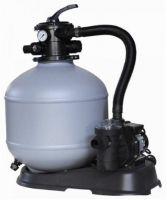 MY POOL Sandfilteranlage 330-40 4,0m3/h Kunststoffkessel für Pools bis 27 Kubikmeter Inhalt