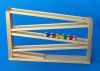 Rollbahn mit Tausendfüßler von Beck in Braun, 42 x 7 x 27 cm 20005