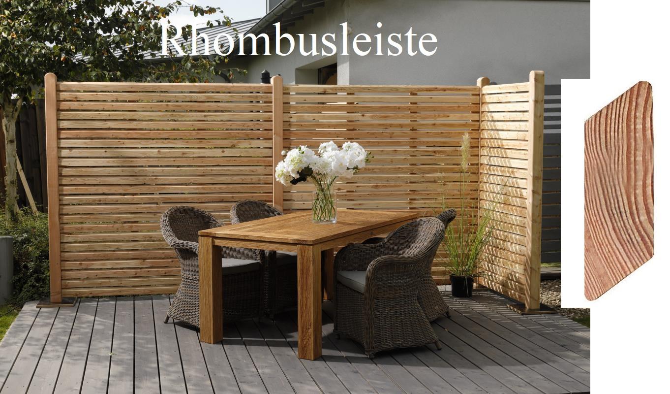 Larche Zaune Aus Holz Zaun Sichtschutz Gartenausstattung