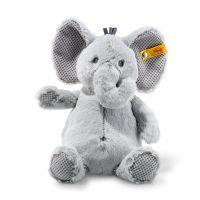 Steiff 240539 Soft Cuddly Friends Ellie Elefant, grau 28 cm