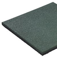 Fallschutzmatte 50 x 50 x 2,5 cm GRÜN Fallschutzplatte Bodenschutzmatte Gummimatte