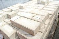 Beton Pflasterstein grau 9,5x19,5x6 cm