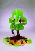 Beck 45x 76cm Baum Haus (Mehrfarbig) 80000