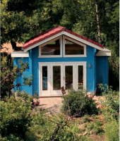 Premium Gartenhaus Charlotte
