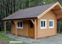 Premium Gartenhaus Springfield