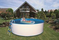 Pool-Set Trend 350x120 cm mit Kartuschenfilter
