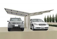 XIMAX Design-Carport Portoforte Typ 60, Y-Ausführung (Edelstahl-Look)