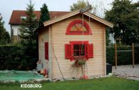 Premium Gartenhaus Kidsburg