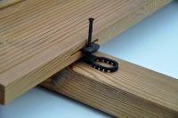 K&R Terracon Terraflex mit Edelstahlschraube A4 5x50mm für Holz Unterkonstruktion 600 Stück