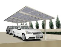 XIMAX Design-Carport LineaTyp 60, Tandem-Ausführung (Edelstahl-Look)