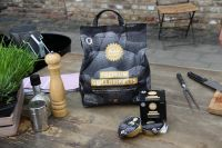 8x 2,5 kg + 4x Brennpaste à 200 gr. Set Kohle Manufaktur Premium Grillbriketts RAUCHFREI* long tasti