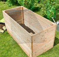 Mausgitter-Set Wühlmausgitter für Hochbeet
