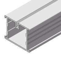 Alu-Schiene L 38x45x1950 mm Unterkonstruktion Terrassen Bodenverlegeprofil Aluminiumsystem Aluschien