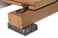 K&R Terracon Terraflex mit Edelstahlschraube C1 5x50mm für Holz Unterkonstruktion 600 Stück