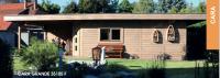 Premium Gartenhaus Cara Grande 35105 F Ferienhaus