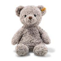 Steiff 113437 Soft Cuddly Friends Honey Teddybär Kuscheltier, hellgrau 38 cm
