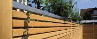 Abdeckleiste Edelstahl 180 cm Edelstahlleiste für Premium Rhombus Zaunelement