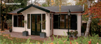 Premium Gartenhaus Angela