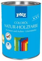 PNZ Natur-Holzfarbe Coloröl, Gebinde:2.5L, Farbe:Kristallblau