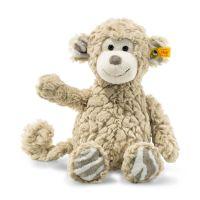 Steiff 060298 Soft Cuddly Friends Bingo Affe Kuscheltier, beige, 30 cm