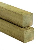 Kantholz Kiefer imprägniert 70x70x4000 mm Konstruktionsholz Pfosten