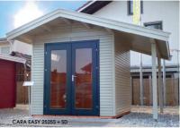 Premium Gartenhaus Cara Easy 2525S + SD