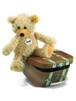 Steiff 012938 - Charly Schlenkerteddy 30 cm beige im Koffer