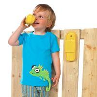 Telefon gelb für Kinder / Spieltelefon aus Kunststoff / Spieltürme
