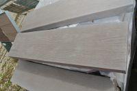 Beton Trittplatte anthrazit Holzoptik 79x20x5 cm