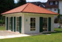 Premium Gartenhaus Rome