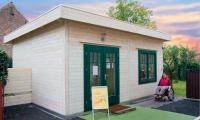 Premium Gartenhaus Cara Luna 5060 F
