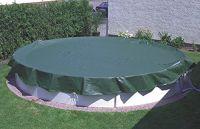 Pool Ganzjahresabdeckplane 780x380 cm für Ovalbecken 700x300 cm