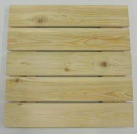 Terrassenfliese aus Lärchenholz 50x50cm Holzfliese Balkonfliese Fliese Terrasse Terrasse