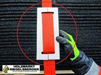 PREMIUM Gurtschoner 250x100x8 mm schwarz, sehr stabil, aus Anti-Rutschmaterial