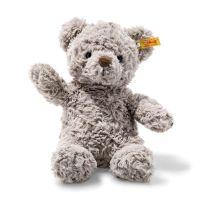 Steiff 113420 Soft Cuddly Friends Honey Teddybär Kuscheltier, hellgrau