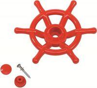 Schiffslenker klein ROT Ø 350 mm Piraten-Lenkrad für Spielhaus Spielturm