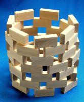Beck 70x 35x 17,5cm Fröbel Bausteine (48, braun) 60031
