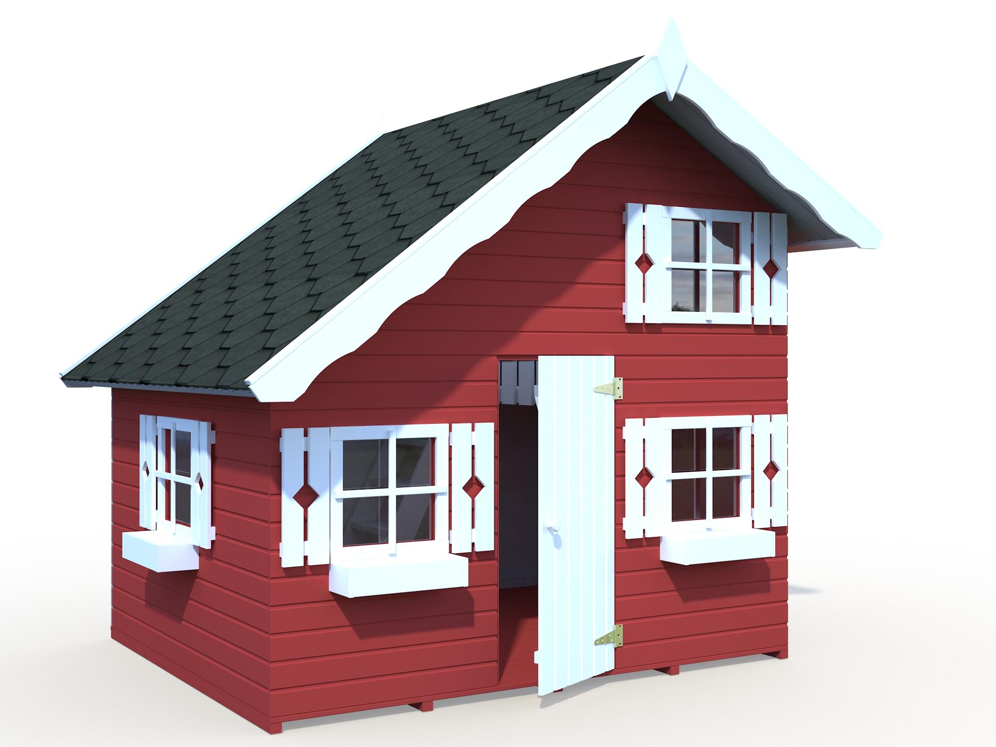 palmako kinderspielhaus tom b220 x t180 x h228 cm spielhaus kinderhaus holzhaus claudia. Black Bedroom Furniture Sets. Home Design Ideas